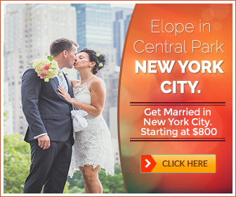 Affordable Central Park Elopement Packages